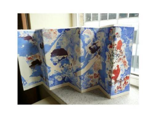 clowning-blue-fanned-monoprint36-1-600x450